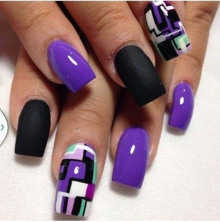 4-Easy-acrylic-nail-art-designs