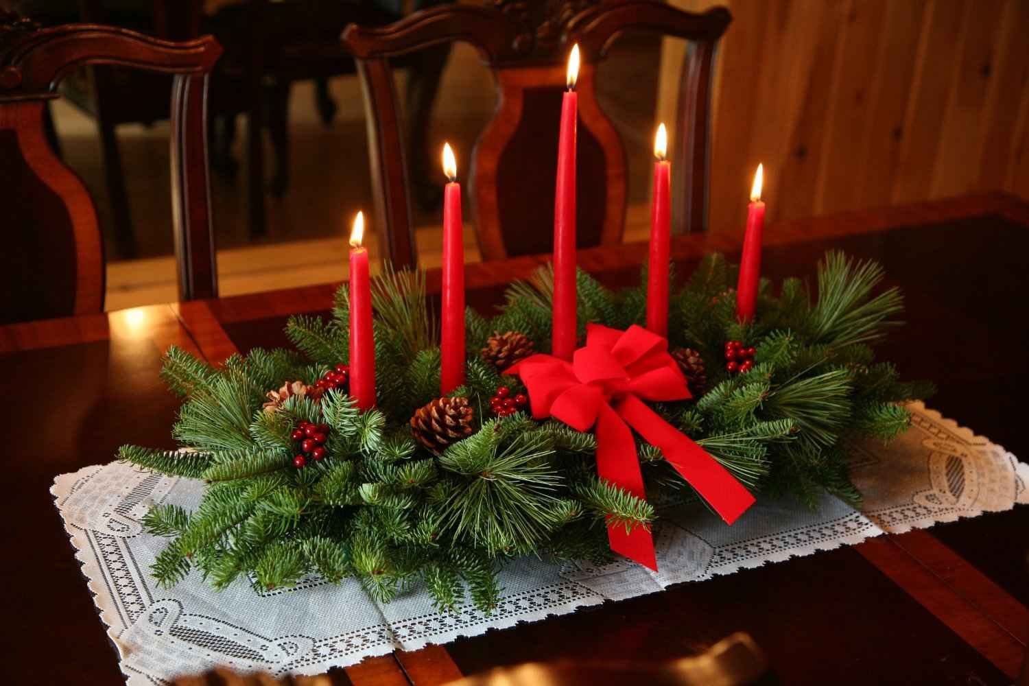 beautiful christmas table decorations you will love