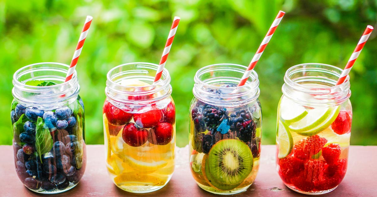 Detox Water Recipe Ideas to Cleanse